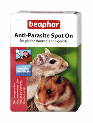 Beaphar Anti-Parasite Spot On Small Animals - Hamsters & Gerbils - 2 Pack