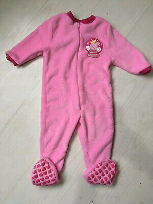 Peppa Pig All-In-One Suit, Age 18-23 Months, Pink Fleece