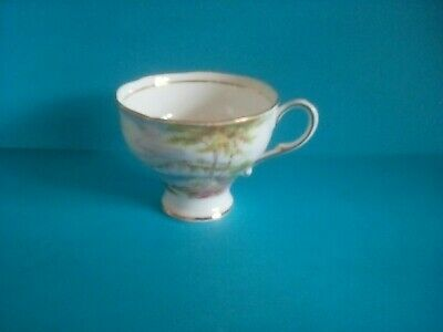 PARAGON 'CLIFFS OF DOVER' FOOTED COFFEE CUP ONLY - rare