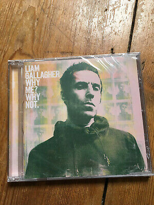 Liam Gallagher 'Why Me? Why Not' (2019) New Sealed CD album