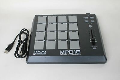 AKAI Professional MPD18 USB Powered Compact 16-Pad Midi Drum Controller