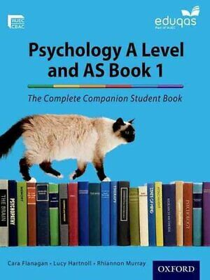 The Complete Companions for Eduqas Year 1 and AS Psychology Stu... 9780198356103