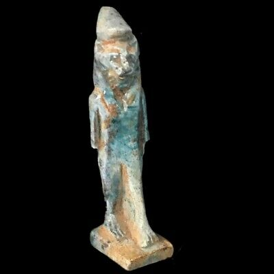 Egyptian Sekhmet Statue, Late Period 664 - 332 Bc (3)