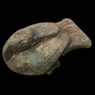 Egyptian Bird Statue, Late Period 664 - 332 Bc (4)
