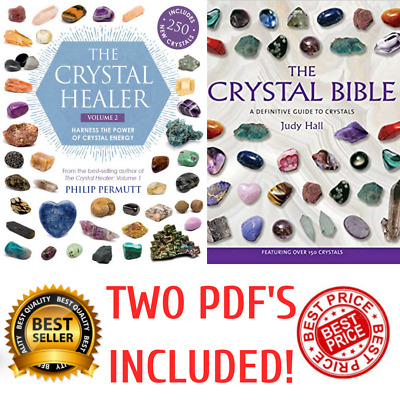 PD.F The Crystal Healer Harness Power of Energy Definitive Guide Judy Hall Bible