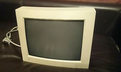 VINTAGE APPLE MACINTOSH COMPUTER MONITOR 12inch RGB DISPLAY