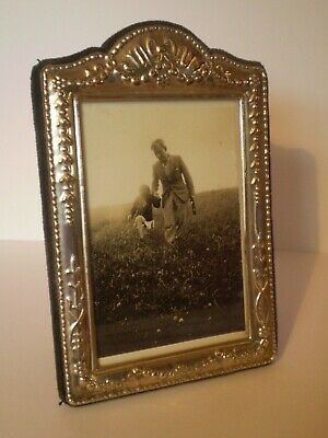 Stunning Vintage Style Solid Silver Photo Frame By R.carr 12 X 8 Cm