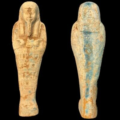 EGYPTIAN HIEROGLYPHIC SHABTI (6) Large Over 16 cm !!!!