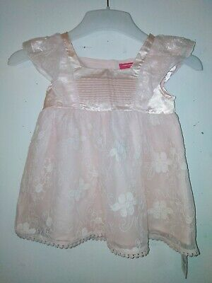 Bnwt primark Young Dimension Girls Lace Pink Top Age 4-5 Years