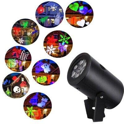 Star Shower Window Wonderland Christmas Halloween Movie Projector Kit 12 Modes