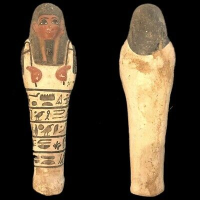EGYPTIAN HIEROGLYPHIC SHABTI (7) Large Over 16 cm !!!!