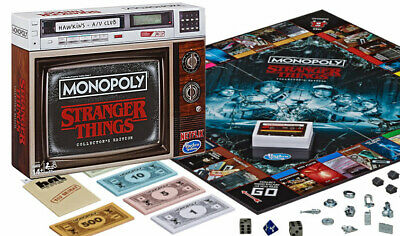Monopoly - Stranger Things Collectors Edition Monopoly -  Brand New