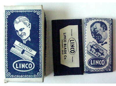Vintage  LINCO   FULL BOX SE  Safety Razor Blades