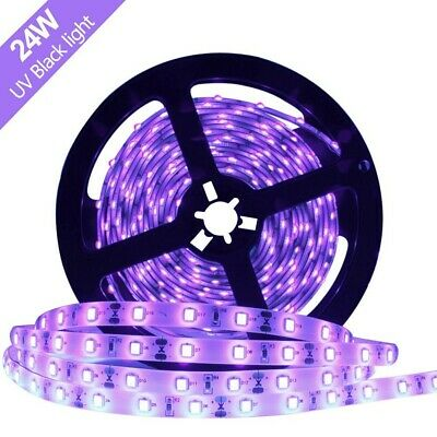 10x 20W T8 UV 600mm 2ft Ultraviolet Blacklight Tube Strip Light DJ Disco Lamp