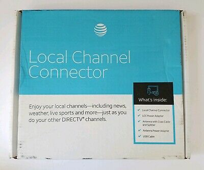 Directv Local Channel Connector Antenna Power Adapter
