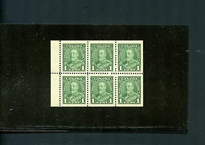 LOT 79342 MINT NH 217b  BOOKLET PANE : KING GEORGE V PICTORIAL ISSUE