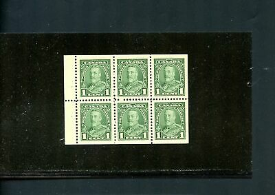 LOT 79340 MINT NH 217b  BOOKLET PANE : KING GEORGE V PICTORIAL ISSUE