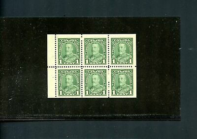 LOT 79341 MINT NH 217b  BOOKLET PANE : KING GEORGE V PICTORIAL ISSUE
