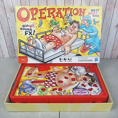Operation Classic Children's Family Game Hasbro