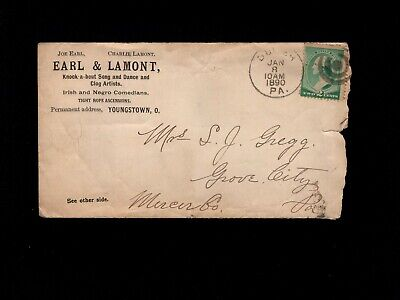 Irish & Negro Comedians Earl Lamont Youngstown OH Quack Medicine & Letter! 6h