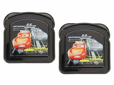 Cars Sandwich Container (2 Pack) Bread Shaped Keeper, BPA Free