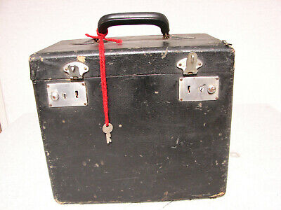 CASE AND TRAY ONLY from 1941 SINGER vtg FEATHERWEIGHT 221 needs TLC, AS IS no re