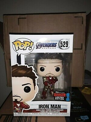 Funko POP! Avengers Endgame Iron Man Gauntlet NYCC 2019 Shared Exclusive IN HAND