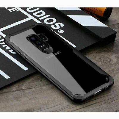 For Samsung Galaxy S9 S8 Plus Note 8 9 Case Clear Shockproof Hybrid Bumper Cover
