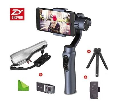Zhiyun Smooth Q Smooth 3 BLUE Handheld Gimbal Stabilizer ios & Android BLUE NEW
