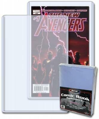 BCW Topload Holders -- Current Comic (7 x 10 3/4) -- Pack of 10