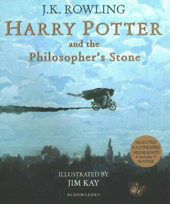 Harry Potter and the Philosopher's Stone Illustrated Edition 9781526602381