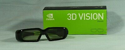 Nvidia 3D Glasses One New In Unopened Box One Used