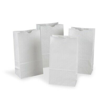 Rainbow Kraft Bags - White, 50-Count  - White, 50-Count