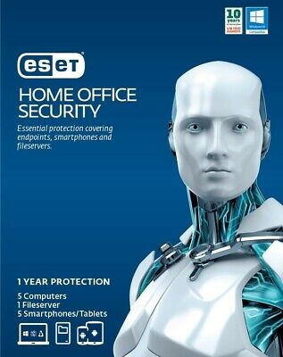 Eset Home Office Security Pack – 5 Endpoints, 5 Android, 1 File Server, 1Y Digit