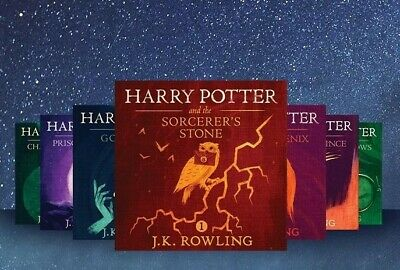 Harry Potter Series 1-7 by J.K. Rowling -  [Audiobooks]
