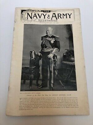 RARE - THE NAVY AND ARMY ILLUSTRATED JAN 17th 1896 VOL I - NO. 3