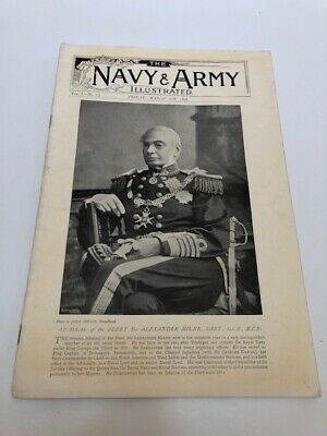 RARE - THE NAVY AND ARMY ILLUSTRATED March 20th 1896 VOL I - NO. 7