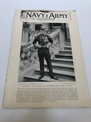 RARE - THE NAVY AND ARMY ILLUSTRATED May 1st 1896 VOL I - NO. 10