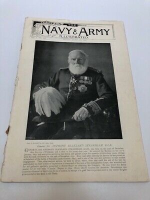 RARE - THE NAVY AND ARMY ILLUSTRATED June12th 1896 VOL I - NO. 13