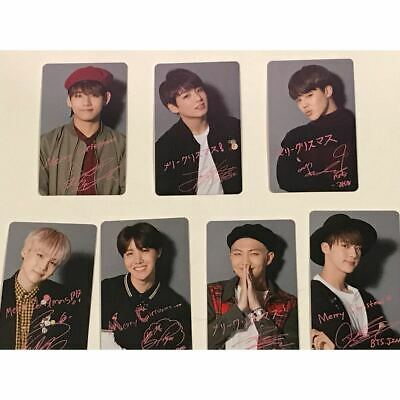 BTS Photo Card Trading Card I NEED U Christmas Limited Japan Chooseble