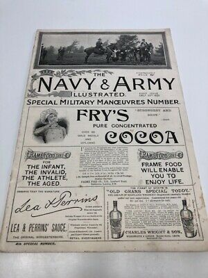 RARE - First Issue  THE NAVY AND ARMY ILLUSTRATED Dec 20th 1895