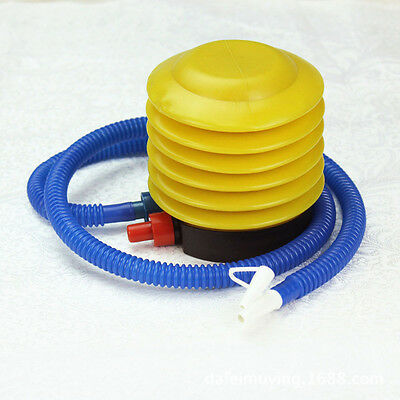 NEW Inflator Foot Air Pump Pillow Balloon Swimming Ring Inflatable Toy Ball I9Z