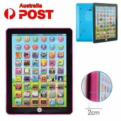 AU-Baby Tablet Educational Toys Kids For 1-6 Years Toddler Learning English Gift