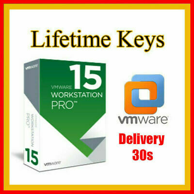 VMware Workstation 15 Pro for Windows 5PC Lifetime License Key fast delevered