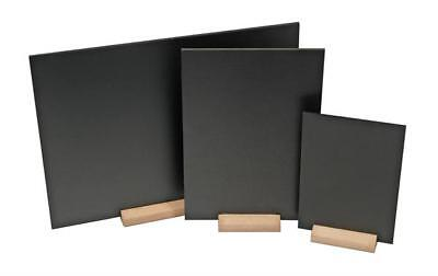A3 Table Top Blackboard & Stand Menu Notice Display Chalk Board Landscape Zhja3
