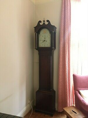 Restored 18thC Welsh Mahogany Longcase Grandfather Clock - OFFERS ACCEPTED