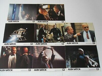 Original Lobby Card Set, 'ALIEN NATION' 1988 with Many Patinkin & James Caan