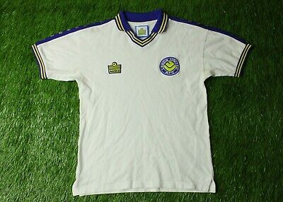 Leeds United 1980-1981 Football Shirt Jersey Home Admiral Score Draw Replica