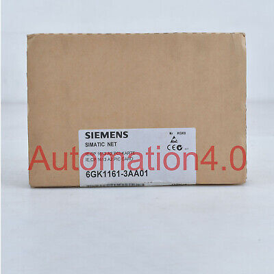 *SHIP TODAY* NEW 6GK1161-3AA01 SIEMENS Communications Processors Ethernet Card