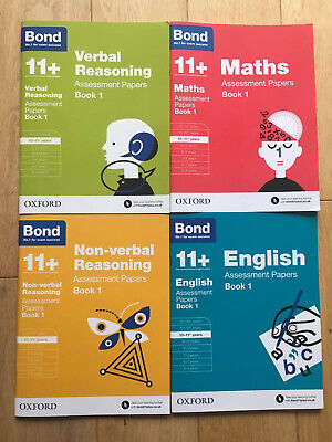 Bond 11 Plus Books 10 - 11 Assessment Papers Book 1